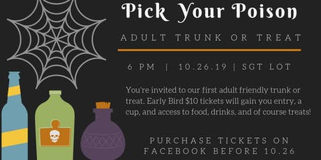 Pick Your Poison at Small Grand Things tickets