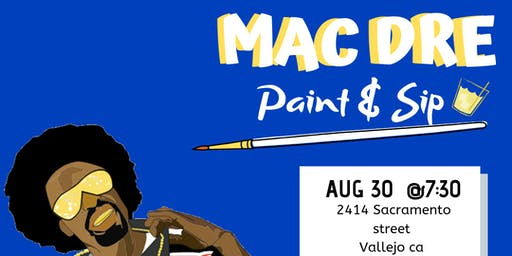 Mac Dre paint and sip