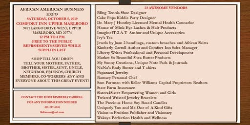 African American Business Expo