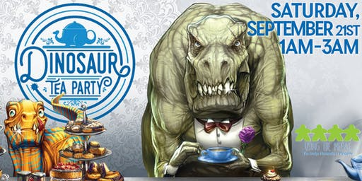 Dinosaur Tea Party Open Play