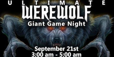 Giant Werewolf Game