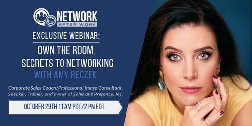 NAW Exclusive Webinar: Own the Room, Secrets to Networking