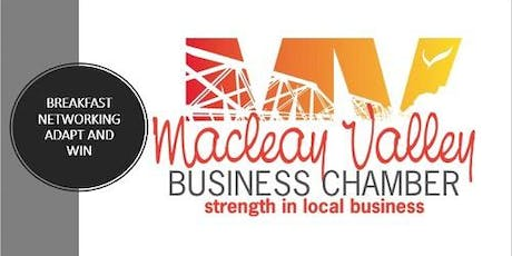 Macleay Valley Business Chamber August Networking Breakfast tickets