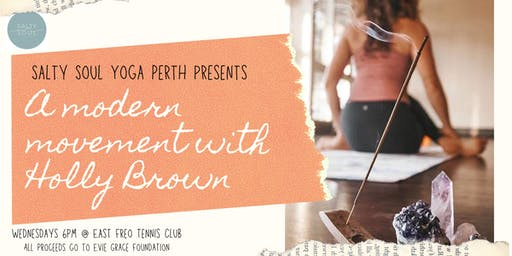 Yoga for the Soul! A modern movement with Holly Brown.