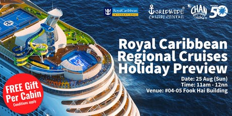 Royal Caribbean Regional Cruises Holiday Preview  tickets