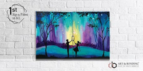 Sip & Paint Date Night : Firefly Wishes tickets