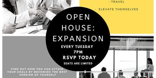 Business Expansion: Open House
