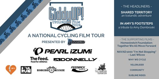 GiddyUP Cycling Film Tour - Ashland