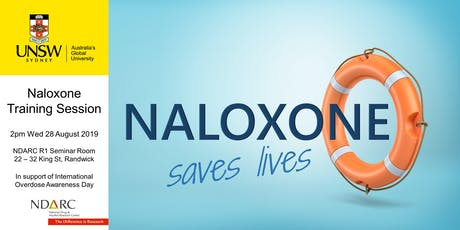Naloxone Training at NDARC tickets