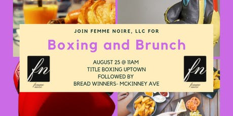 Boxing and Brunch tickets