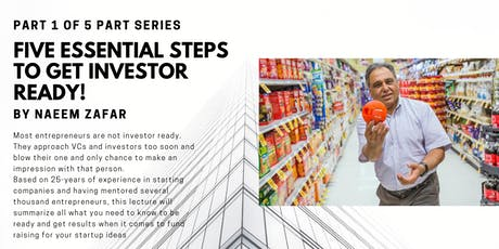 Five Essential Steps to get Investor Ready! tickets