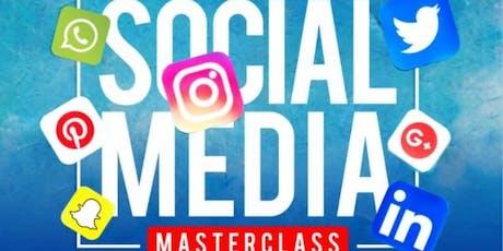 Social Media Masterclass biglietti