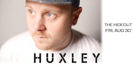 Huxley - UK tickets
