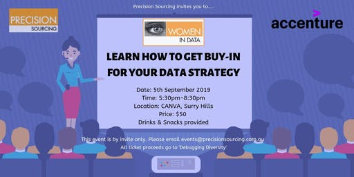 Women in Data   Learn how to get buy-in for your Data Strategy