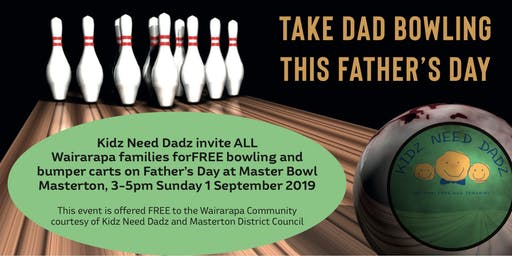 TAKE DAD BOWLING THIS FATHER'S DAY