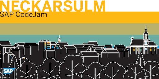 SAP CodeJam Neckarsulm