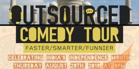 Outsourced Comedy Tour 2019 Starring Kabir Singh LIVE in Milpitas, CA tickets