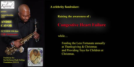 National Recording Artist : ANDRE CAVOR hits the STAGE! A CHF Fundraiser! tickets