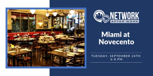 Network After Work Miami at Novecento