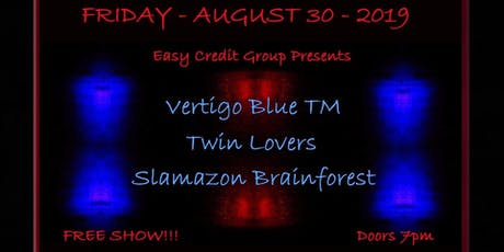 Vertigo Blue TM / Twin Lovers / Slamazon Brainforest tickets