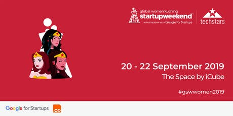 Techstars Global Startup Weekend Kuching Women's Edition tickets