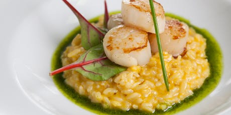 Seasonal Farmhouse: Buttery Scallops with Corn & Chive Risotto  tickets