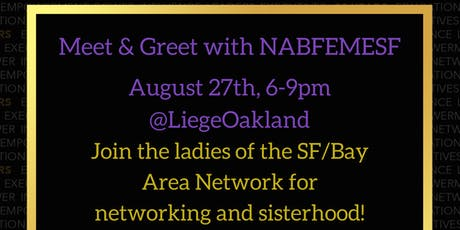 Meet & Greet with NABFEMESF Network tickets