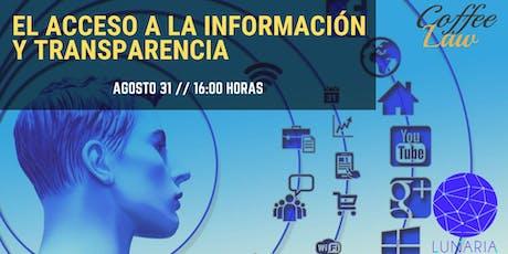 Acceso a la Información y Transparencia boletos