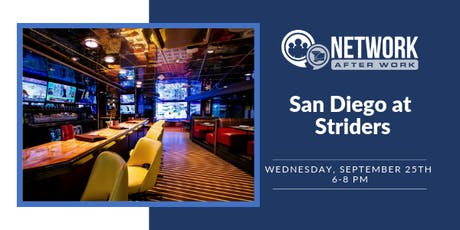Network After Work San Diego at Striders tickets