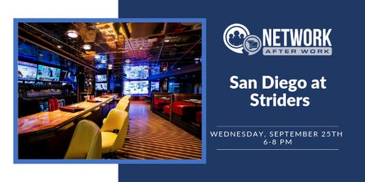 Network After Work San Diego at Striders