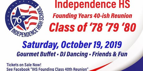 Independence HS 40~ish Reunion tickets