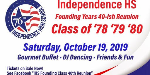 Independence HS 40~ish Reunion