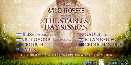 THE STABLES - Wild Horses Festival pre party  3.11 day session
