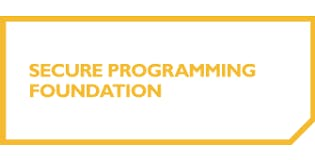 Secure Programming Foundation 2 Days Training in Brussels
