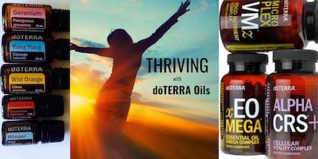 THRIVING with dōTERRA Oils tickets