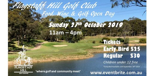 Food, Wine & Golf Open Day 2019