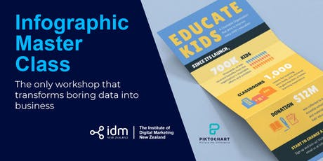 Infographic Master Class - Auckland tickets