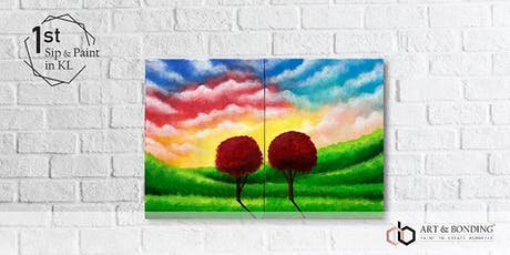 Sip & Paint Date Night : Peaceful Land tickets