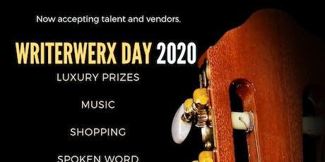 Writerwerx Day tickets