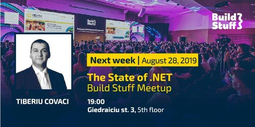 Build Stuff Meetup-The State of .NET