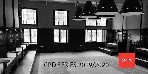 GIA CPD SERIES - 2019/2020 SEASON