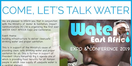 Water East Africa Expo and Conference tickets