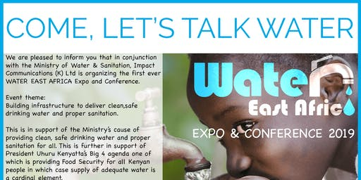 Water East Africa Expo and Conference