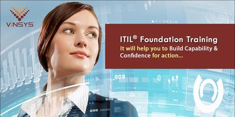 ITIL Certification Training in Dubai tickets