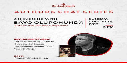 Book Reading And Signing Event With Bayo Olupohunda