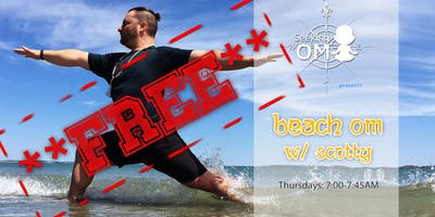 Beach OM Flow - FREE YOGA Class