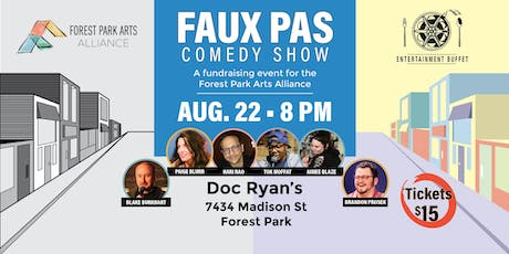 Faux Pas Comedy Show - Fundraiser for the FPAA tickets