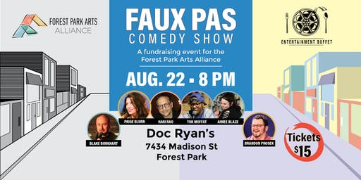 Faux Pas Comedy Show - Fundraiser for the FPAA