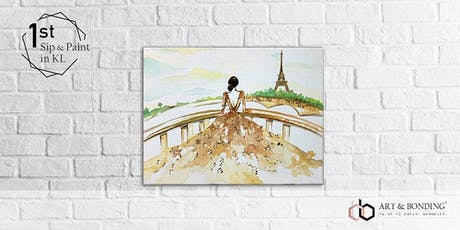 Sip & Paint Night : Lady in Paris tickets