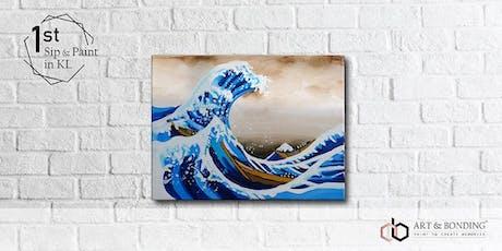 Sip & Paint Night : Hokusai's Great Wave off Kanagawa tickets